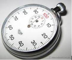 cronometro 100 cmin - Cronometragem - algumas notas