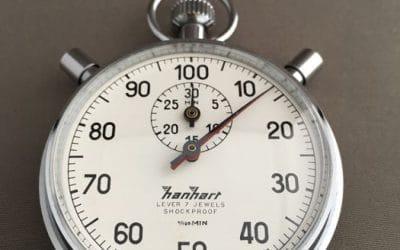 Cronometragem – algumas notas